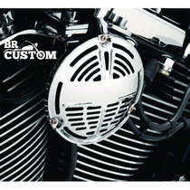 Buzina Cromada Drag/hd/harley/custom/bobber/old/chopper/old