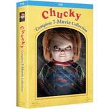 Chucky Blu Ray Collection 7 Films Box Set En Stock Ya!!!