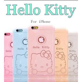 Funda Hello Kitty Para Iphone 5 5s Se Color Rosa