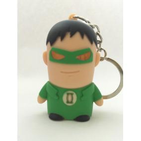 Chaveiro Super Herói Lanterna Verde Com Led E Som - 1 Unidad
