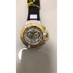 8c41493c111 Relógio Invicta Subaqua 15802 Noma 3 Dourado Preto Com Cai