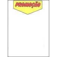 Cartaz   Promoção   - Sulfite - 25x17cm - 100 Un