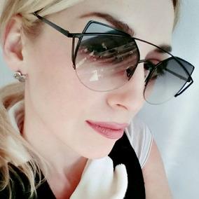 Óculos De Sol Feminino Olho De Gato New Twin Vigas 4447dacd56
