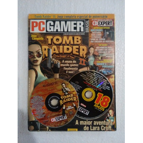Pc Gamer # 35 Tomb Raider - The Dagger Of Xian + 18 Jogos