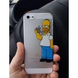 Carcasa Iphone 5 5s 6 6s 7 7 Plus Homero Simpson