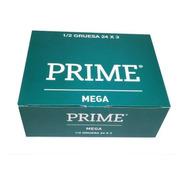 Preservativos Prime Mega 24 Cajitas X 3 Ancho 56 Mm