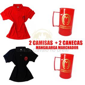 Kit Casal Duas Camisas Mangalarga + 2 Canecas Oferta 0ea93dcd1fd