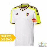 Nueva Camisa Vinotinto Futbol Caballeros ( Importadas)
