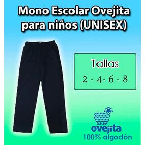 Mono Escolar Ovejita Para Niños Y Niñas Unisex Azul Marino