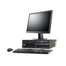 Computadora P4 Lenovo/hp Con Teclado Mouse Y Monitor