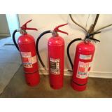 Extintores Polvo Quimico Seco De 10 Kilos