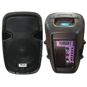Gbr Pl1240 Power Bafle Activo12 Mp3 Bateria Bluetooth 200w