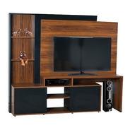 Modular Tv Led Lcd Platinum Hasta 60 5580 Melamina Cuotas
