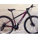 Bicicleta 29 Venzo Rosa 21v + Promoção + Brinde + Frete