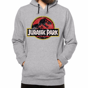 Blusa Moletom Jurassic Park Parque Dos Dinossauros Seriado