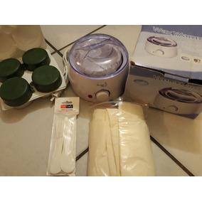 Kit De Cera Depiladora, Pastillas Y Ollla De Cera Depiladora