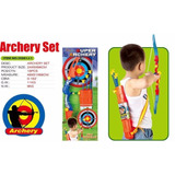 Arco Y Flecha Incluye Blanco Y Flechas Con Ventosas Educando