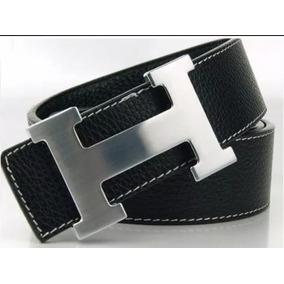 3b4922088fa Cinto Hermes Preto Unissex Dourado - Acessórios da Moda no Mercado ...