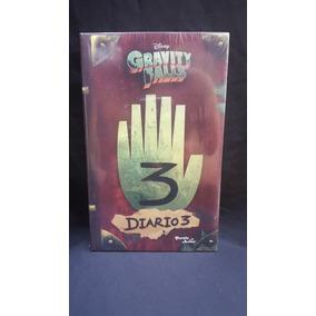 Gravity Falls Diario 3 + Luz Uv + Poster + Mapa