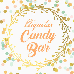 Sticker Etiquetas Troqueladas Plancha Personalizada Candybar