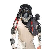 Depredador Mascara De Latex Halloween Adulto Deluxe