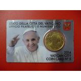 Vaticano Blister Moneda Pontificado Papa Francisco I 2014