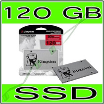 Ssd 120gb Kingston Uv400 - Sata 3 - 550 Mb/s (10x + Rápido)
