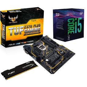 Kit 8ª Geração- I5 8400+ Mb Asus Tuf Z370 Plus+ 8gb 2400 Mhz