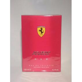 Perfume Ferrari Red 125ml Masculino Edt - 100%original