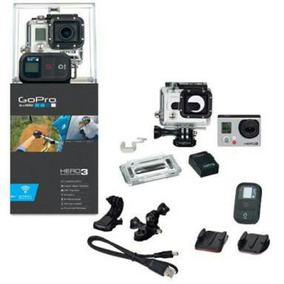 Gopro Hero 3 Black + Tela De Lcd Imperdivel!!!
