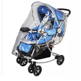Capa Protetora De Chuva Para Carrinho De Bebê Varias Cores