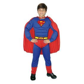 Disfraz Disfraces Super Man Musculoso Carnavalito