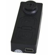 Botão Espião Micro-camera Filmadora Espiã Camuflada