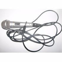 Microfono Alambrico Sonimax 3m Kareoke Nuevo!!