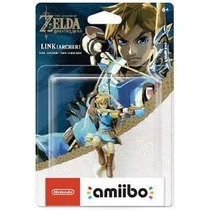 Amiibo Link Archer Zelda Breath Of The Wild Pronta Entrega