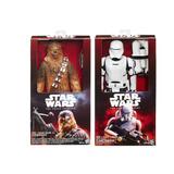 2 Muñecos Chewbacca Y Flametrooper Star Wars Hasbro 30 Cm