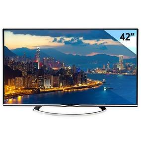 Smart Tv Led Siragon 4k Uhd - 42 - Base - Impecable - Wifi