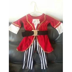Disfraz De Pirata Unisex Niños 1 A 2 Años