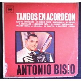 Antonio Bisio-tangos En Acordeon-lp Vinilo-envio Oca