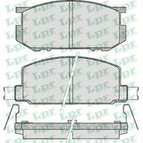 Pastillas De Freno Lpr Subaru 1600 79/81 Sistema Akenobo