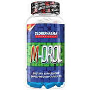M-drol 60 Caps - Clone Pharma