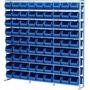 Gaveteiro Estante Com 81 Gavetas Bins Organizador Resistente