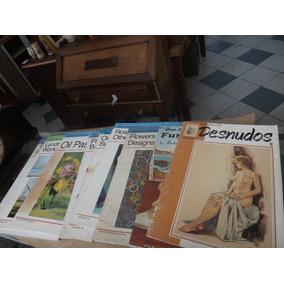 Lote De Revista Como Desenhar E Pintar Importada # 5603