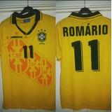 46571eb2a1 Camisa Brasil Romário 11 no Mercado Livre Brasil