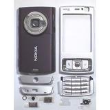 Kit Carcaça Nokia N95 Cinza Prata Pronta Entrega!