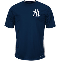 Remera Baseball New York Yankees Majestic Coolbase Talle Xl
