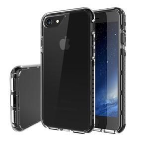 Estuche Iphone 7 Protectora Híbrido Slim Fit Duro Gota 4.7 N
