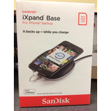 Sandisk Ixpand Base 32gb Apple Respaldo Cargador
