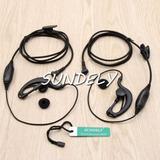 Clip Ear Auriculares/auricular Mic Motorola 2 Forma Radio Ta