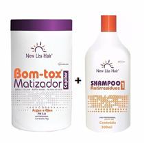 Botox Matizador New Liss P/loiros 1kg + Shampoo 300ml